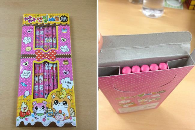 5 matite