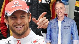 Jenson Button e Linus