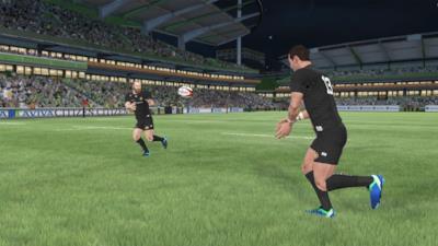 Una scena di Rugby 18