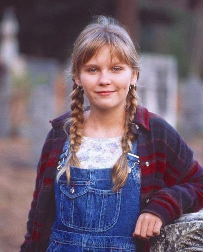 Un'immagine di Kirsten Dunst da adolescente