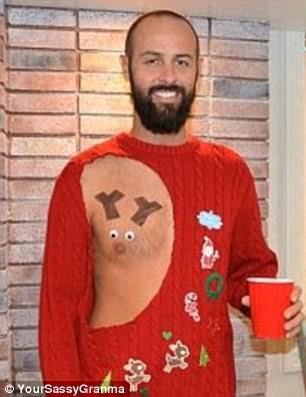 La versione maschile del maglione trash