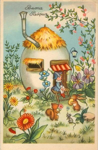 Un cartoncino di auguri di Buona Pasqua - Immagini per auguri di Felice Pasqua