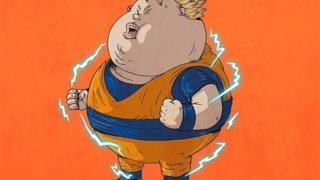 Goku in versione obesa
