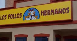 L'insegna del ristorante Los Pollos Hermanos