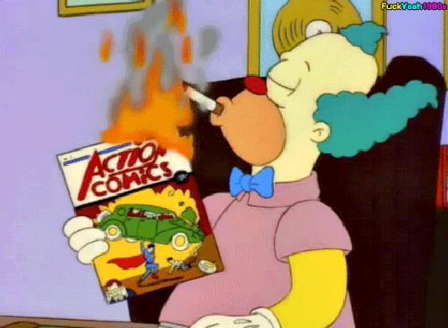 GIF Krusty il Clown dei Simpson
