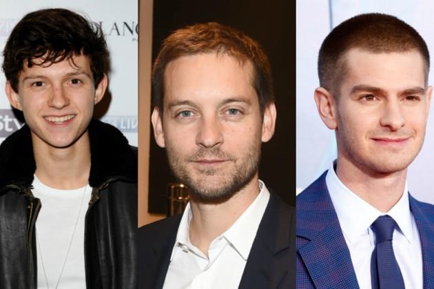 Gli Spider-Man del cinema: Holland, Maguire e Garfield