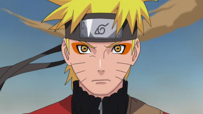 Naruto col suo coprifronte