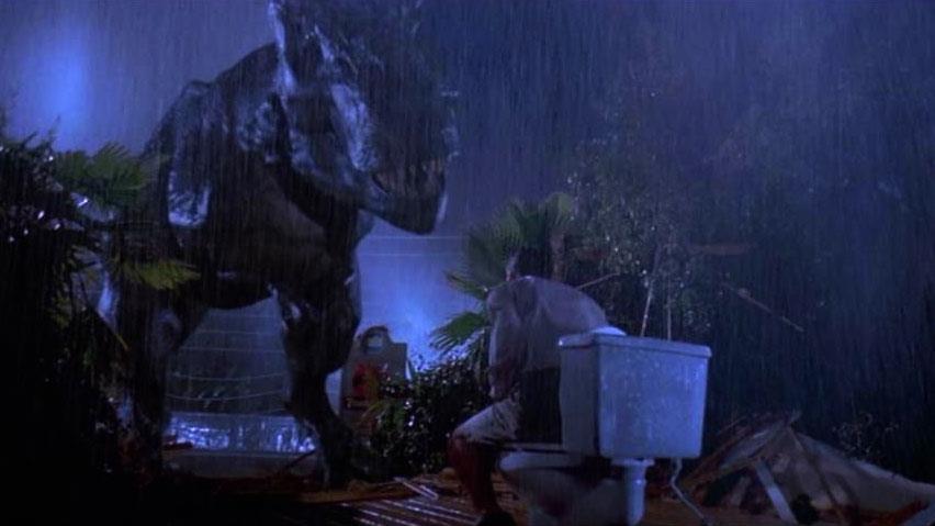 Donald Gennaro in una scena di Jurassic Park