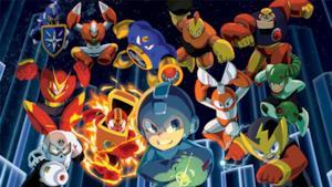 Mega Man in combattimento