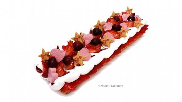 La torta ispirata a Sailor Mars