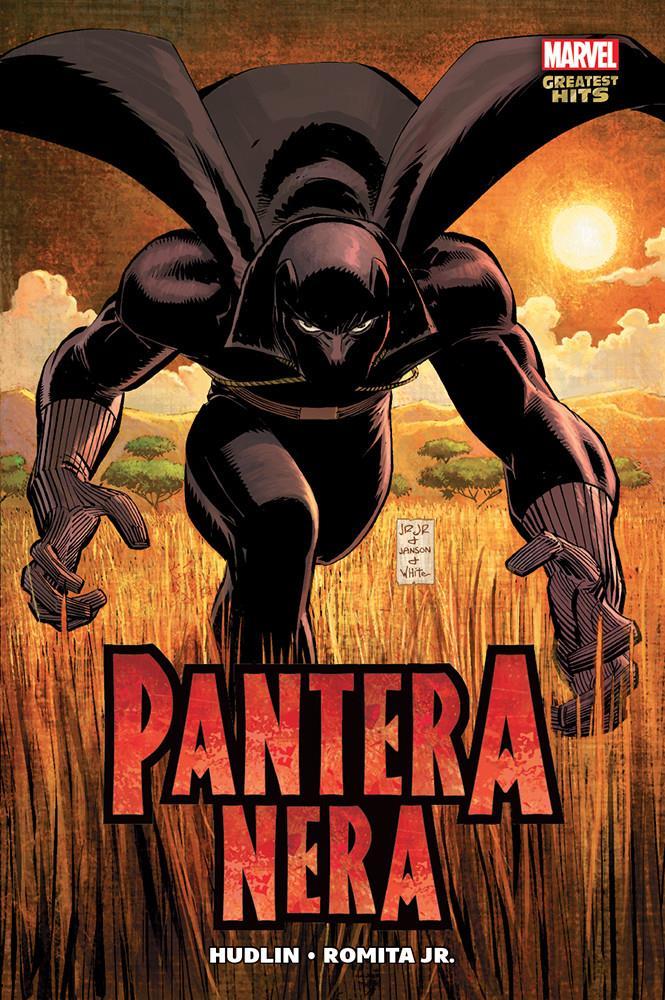 La copertina di Pantera Nera