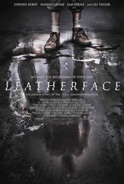 La locandina di Leatherface
