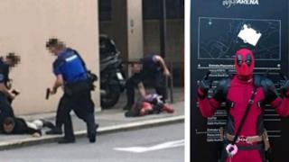 La foto dell'arresto