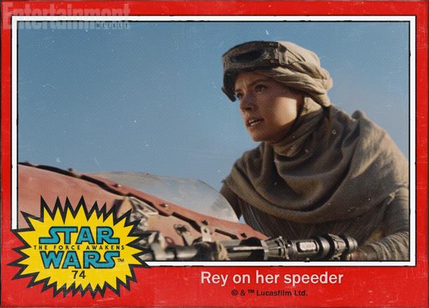 il personaggio Redy di Star Wars 7