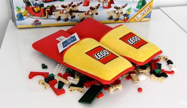 Le pantofole ufficiali LEGO proteggeranno i vostri piedi