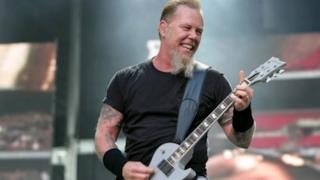 La foto di James Hetfield