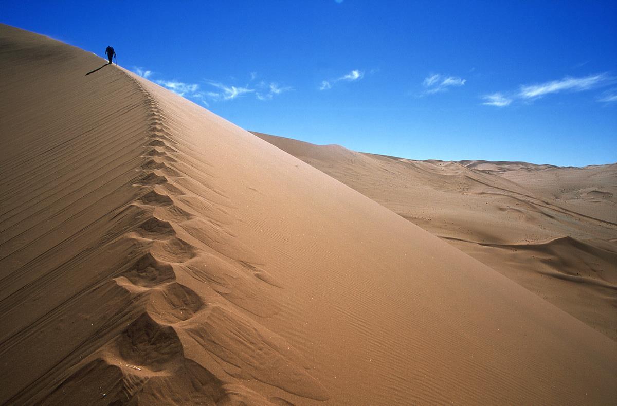 Dune del deserto in Namibia