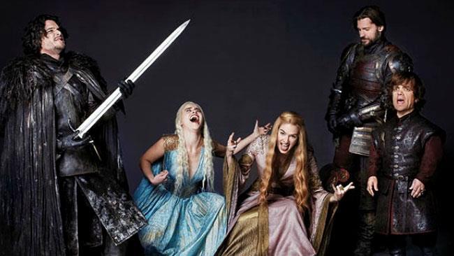 I personaggi di Game of Thrones ridono in faccia alla morte