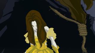 Belle in versione horror con la Bestia
