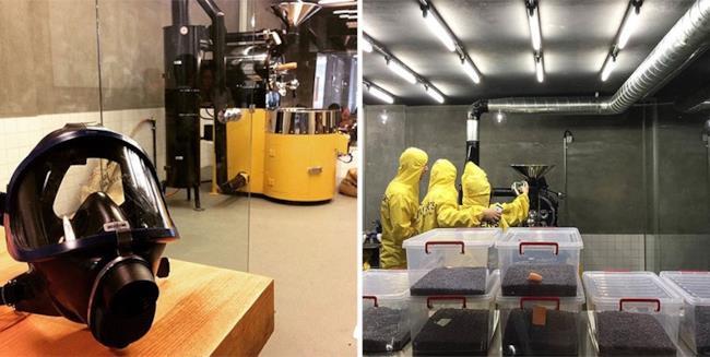 I laboratori del Coffee Shop di Breaking Bad