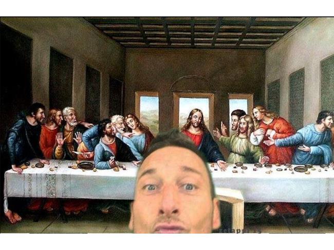 Francesco Apostolo all'ultima cena