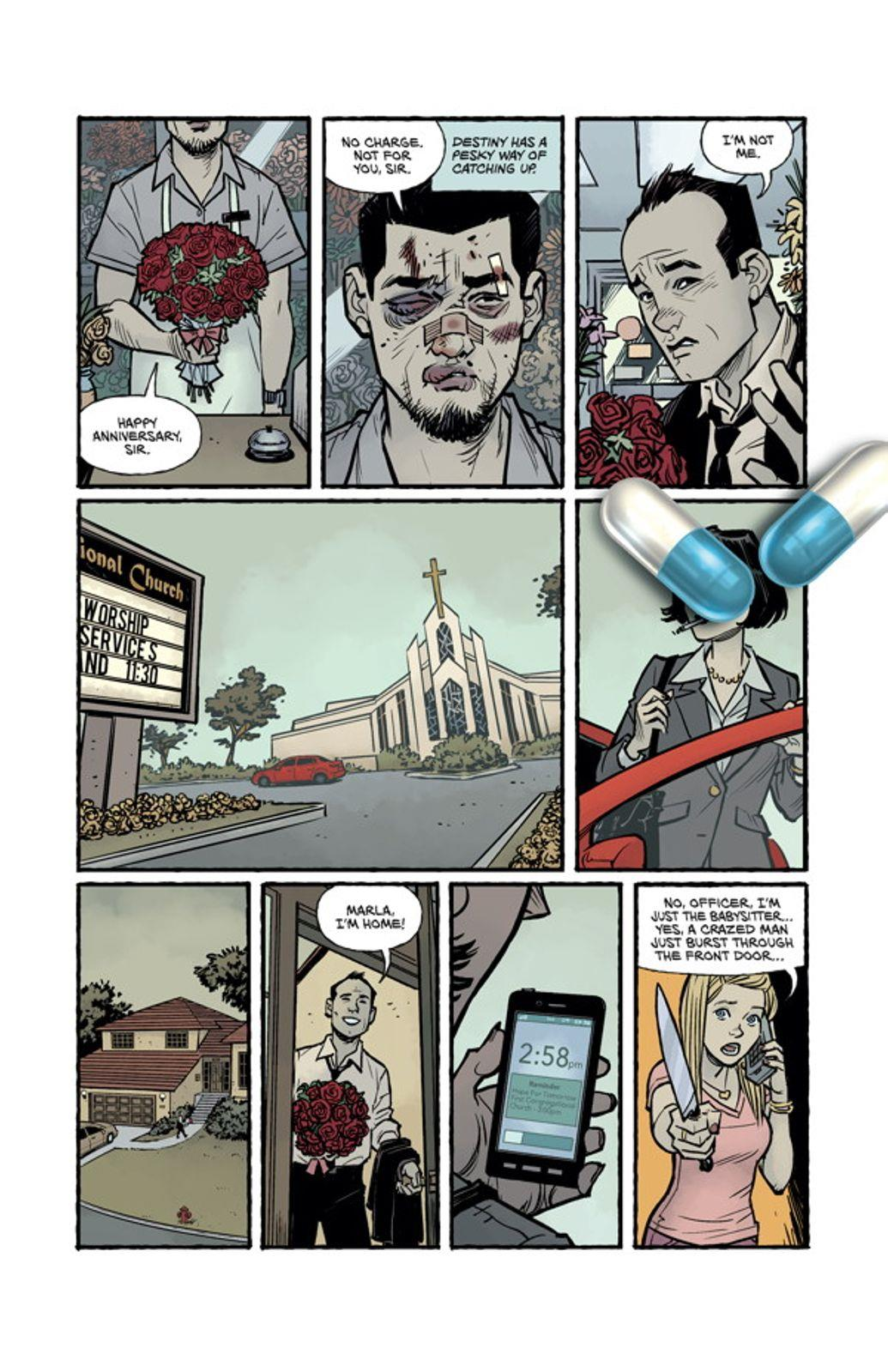 Immagini di anteprima del fumetto Fight Club 2