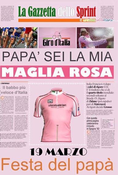 Una pagina custom della Gazzetta dello Sport