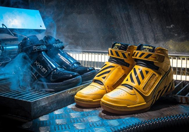 Le sneakers di Aliens - Scrontro Finale firmate Reebok.
