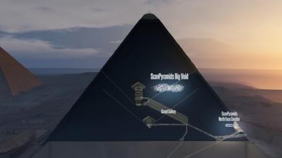 Vista della Piramide di Cheope