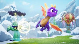 La foto del drago Spyro