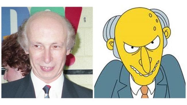 Mr.Burns dei Simpson