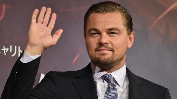 La foto dell'attore Leonardo DiCaprio