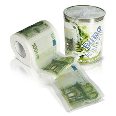 La carta igienica da 100 euro - Regali sotto i 10 euro