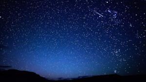 Un cielo stellato