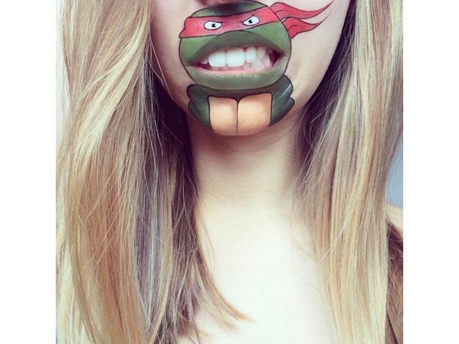 Tartarughe Ninja Make Up