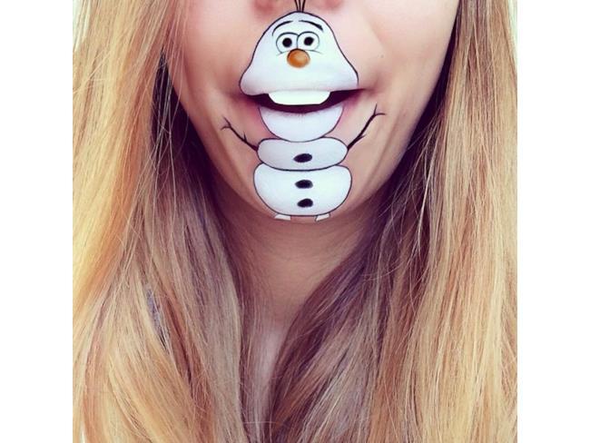 Olaf Make Up