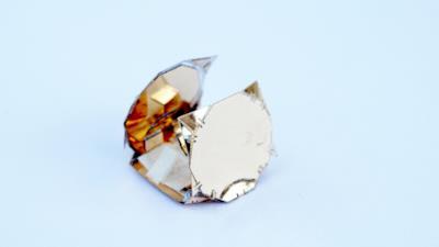 Il robot origami ha assunto la forma di una ruota
