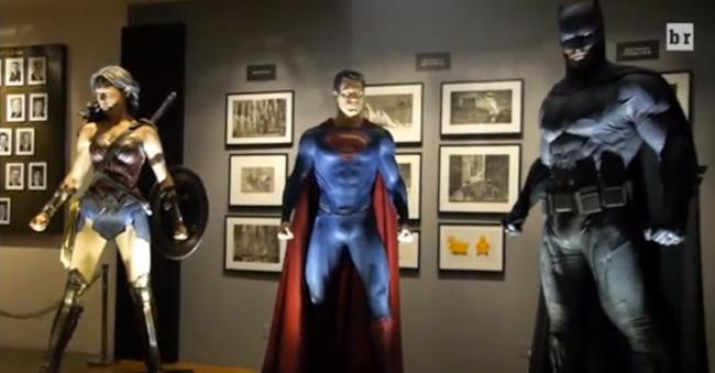I costrumi della Trinità DC in Dawn of Justice