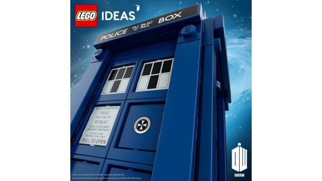 Il teaser ufficiale del set LEGO di Doctor Who con la TARDIS