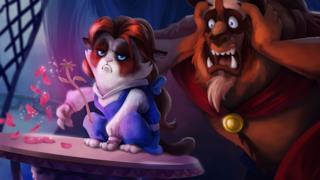 Grumpy Cat entra nelle vesti delle principesse Disney