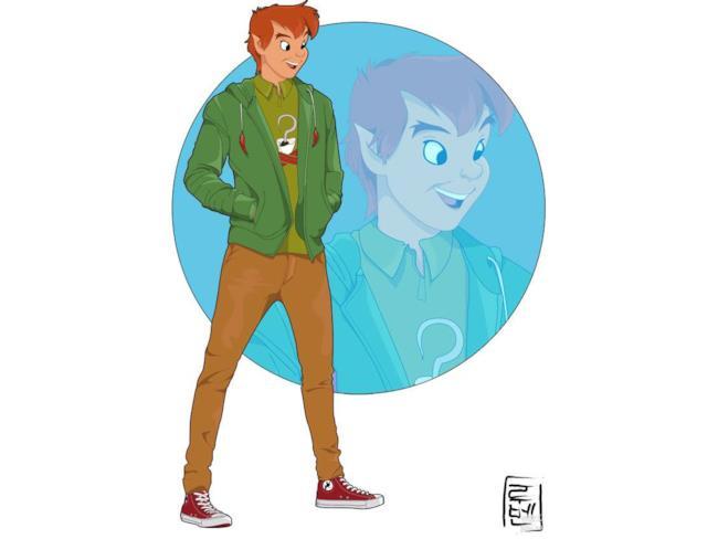 Peter Pan nel mondo moderno