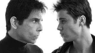 Ben Stiller e Justien Bieber in posa Blue Steel