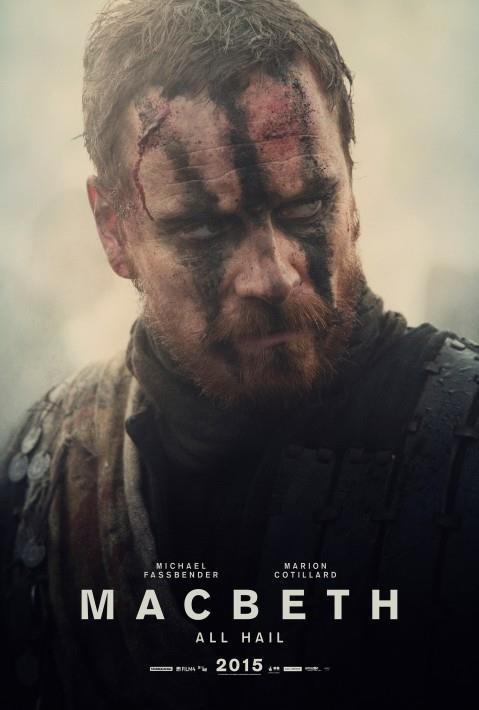 Il chracter poster di Macbeth, interpretato da Micahel Fassbender