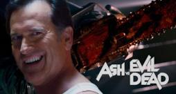 Bruce Campbell in Ash Vs Evil Dead