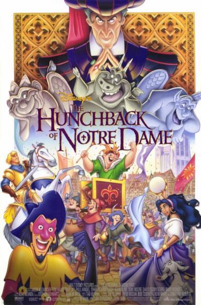 La locandina de Il gobbo di Notre Dame