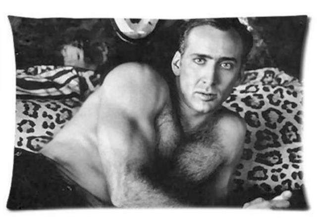 Il copricuscino di Nicolas Cage - Regali sotto i 10 euro