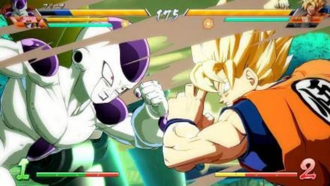 La prima immagine di Dragon Ball Fighter Z