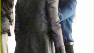 Harley Quinn bacia il Joker sul set di Suicide Squad