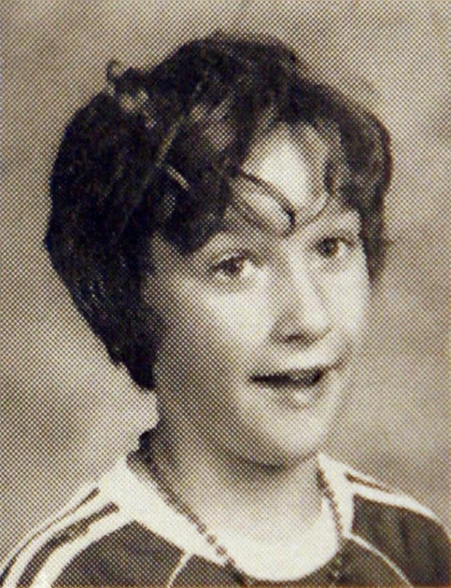 Un'immagine di Jason Statham da adolescente