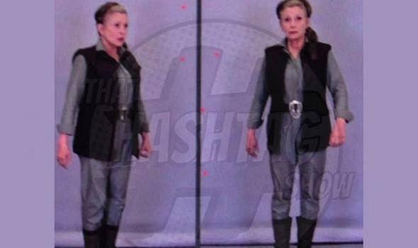 Prima immagine di Leia in Star Wars 7